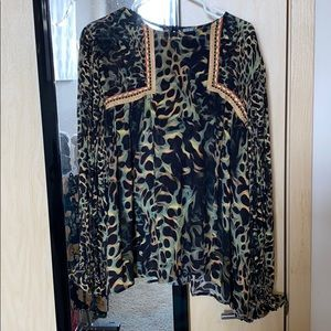 Amazing leopard Antho shirt worn once!!!